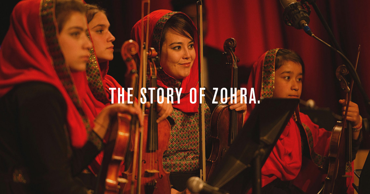 Zohra - Afghanistan's first all-female orchestra